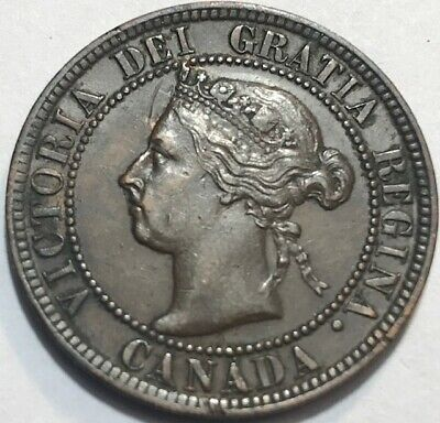 CANADA - Queen Victoria - One Cent - 1894 - Extra Fine + - See Images!
