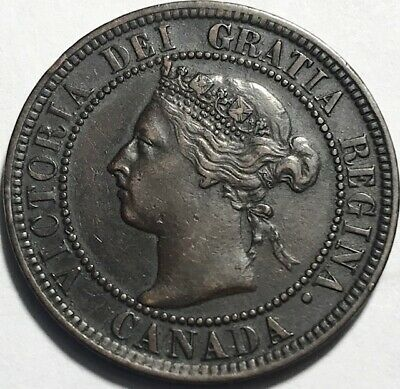 CANADA - Queen Victoria - Large Cent - 1900 - KM-7 - About Uncirculated