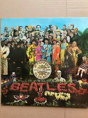 The Beatles -Sgt. Peppers Lonely Hearts Club Band Lp Mono - Parlophone Pmc 7027