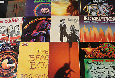 Schallplatten LP Sammlung Vinyl Paket 45x Rock POP DOORS Fleetwood Mac U2 BEAT