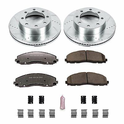 Power Stop K6403-36 Z36 Truck & Tow Front Brake Kit