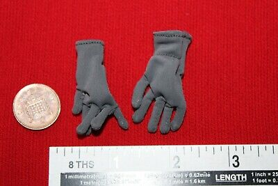 DRAGON DREAMS DID 1//6 SCALE WW II GERMAN CURTIS GREY GLOVES /& TOQUE