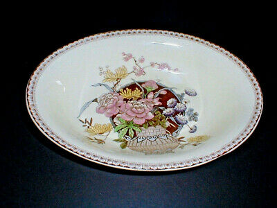 Newport Pottery England #6939 Clarice Cliff OPHELIA Oval Vegetable Bowl
