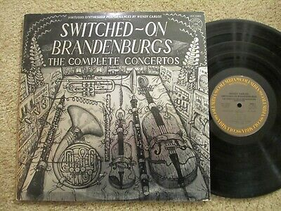 Switched-On Brandenburgs The Complete Concertos - Wendy Carlos