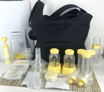 MEDELA Double w/Carrying Case and Accessories