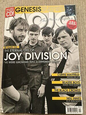 MOJO  Magazine  March  2020  JOY DIVISION  GENESIS  BEASTIE BOYS  BLACK CROWES