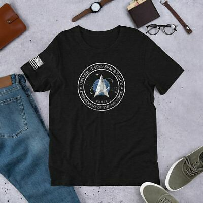 NEW United States Space Force USSF Grunt Style Distressed UNISEX T-Shirt XS-4XL