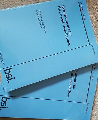 Requirements for Electrical Installations IET Wiring Regulations BS7671 2018 NEW