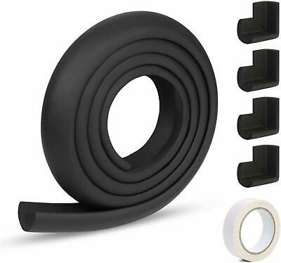 Edge Protectors 2 M Foam Safety Strip Edge Corner Guards For Baby Black New
