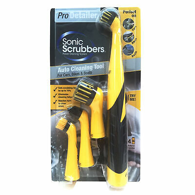 SonicScrubber Pro Detailer 4 Lightweight Brush
