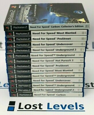 Ps2 - Need For Speed Series - Wanted / Carbon + More / PS2 / PS3 - Boxed