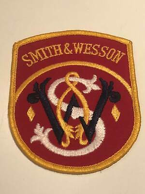 Original Smith & Wesson Aufnäher / Patches (1988)