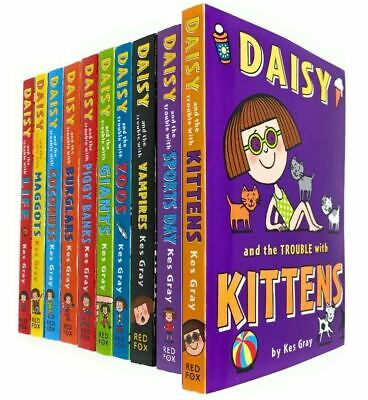Daisy and The Trouble Collection 10 Books Set by Kes Gray (Daisy and The Trouble