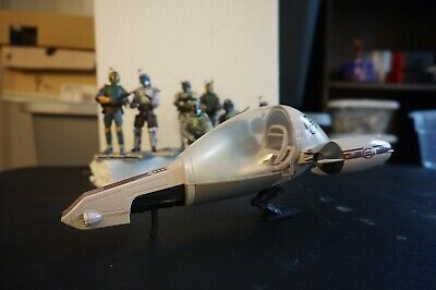 Hasbro Star Wars Freeco Speeder With Clone Trooper The Clone Wars  3.75 Toy