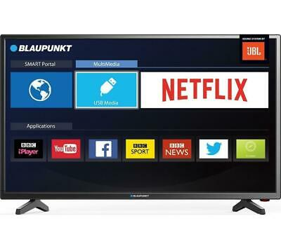 "Blaupunkt 40/138M 40"" FHD 1080p Smart LED TV, HDMI 1.4 x 3 USB x 2, PVR"
