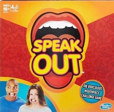 Speak Out Board Game - Brand New