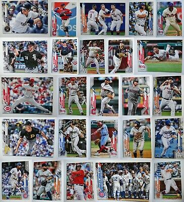 2020 Topps Series 1 Baseball Card Complete Your Set U You Pick From List 176-350