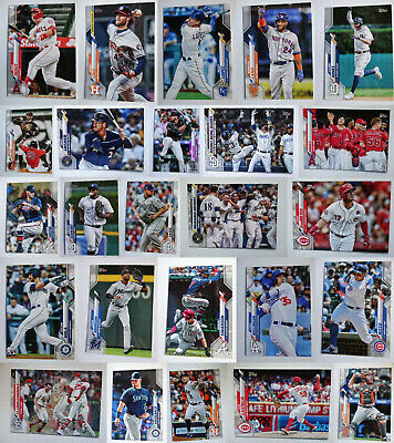 2020 Topps Series 1 Baseball Card Complete Your Set U You Pick From List 1-175