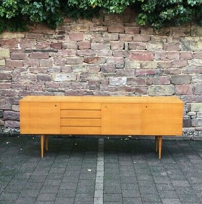 vintage SIXTIES SIDEBOARD  Made in Germany  60s