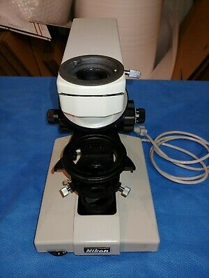 Nikon Labophot Compound Microscope Base with Turret Bare Bones