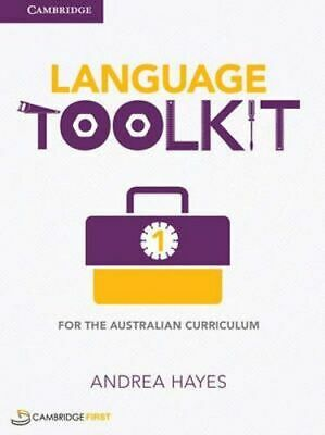 NEW Language Toolkit for the Australian Curriculum 1 Digital (Card) By Andrea Ha