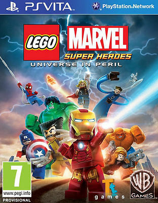 LEGO Marvel Super Heroes: Universe in Peril (PS Vita) New & Sealed UK PAL