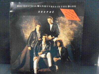 "ORCHESTRAL MANOEUVRES IN THE DARK "" SECRET "" EX+ COND. IN Or. POSTER PIC SL."
