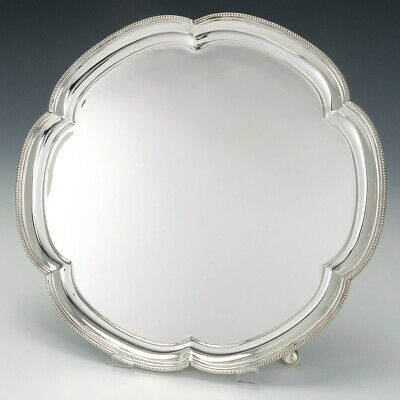 Sterling Silver Salver for Mappin & Webb Sheffield 1937