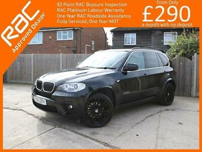 2013 BMW X5 3.0 30d M Sport xDrive 5dr AUTO Panoramic Sunroof 7 Seater Sat Nav B