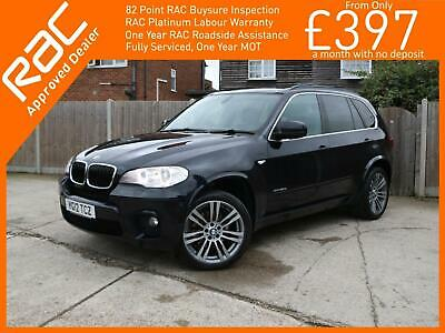 2012 BMW X5 3.0 30d M Sport xDrive 5dr AUTO Sat Nav Rear Cam with Front and Rear