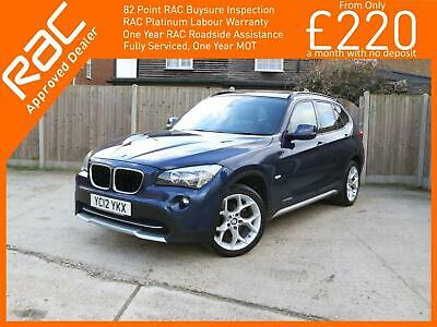 2012 BMW X1 2.0 20d SE xDrive 5dr AUTO Sat Nav Bluetooth USB AUX Full Leather He