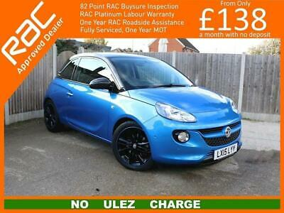 2015 Vauxhall Adam 1.0 Turbo ecoFLEX GLAM 3dr 6 Speed Pan Roof Front and Rear Pa