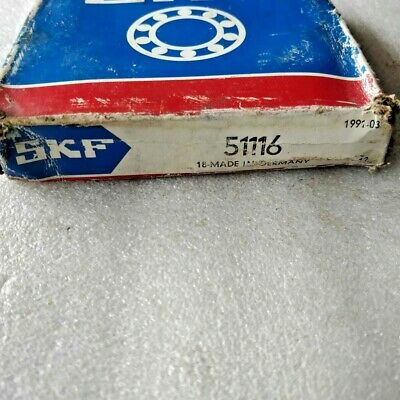 51116 Thrust Ball Bearing 80X105X19 MM SKF GERMANY