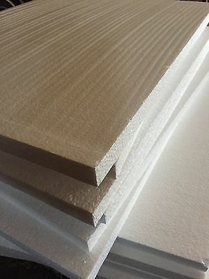 4 LARGE USED Styrofoam Sheet 18 1/4x19 3/4x5/8 Foam Board Craft Packing Shipping