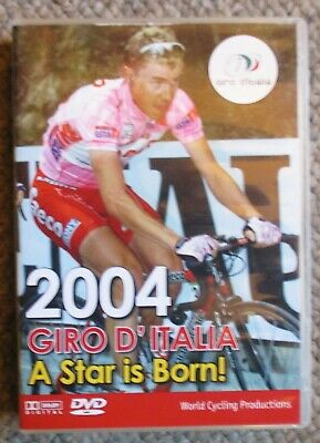 2004 Giro d'Italia World Cycling Productions 3 DVD 4 hrs Damiano Cunego Clean