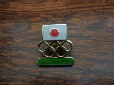 Singapore 2010 Youth Olympic Pin Noc Date Japan