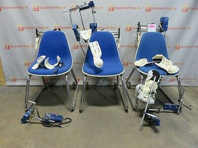 Jace CPM Systems S600 Shoulder Chair Continuous Passive Motion PT Therapy Lot 3