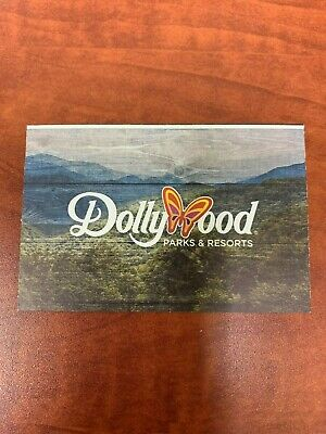 Dollywood Theme Park Ticket-Bring a Friend Pass 8-24-2020 To 9-20-2020