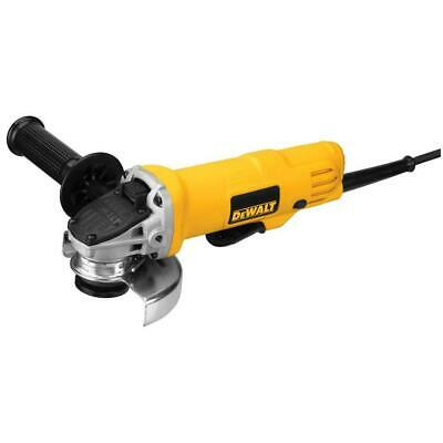 DEWALT DWE4012R 7-Amp 12000 RPM Paddle Switch Corded Small Angle Grinder