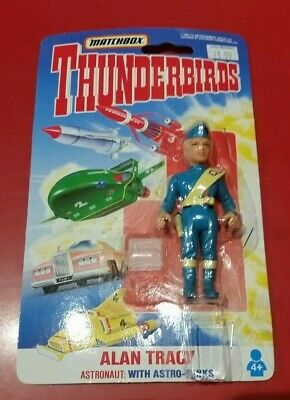Thunderbirds Matchbox Alan Tracy action figure (opened packaging)