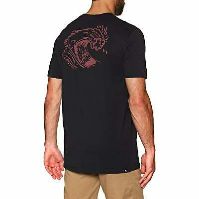 Rip Curl Set Up T-shirt Short Sleeve - Washed Black All Sizes