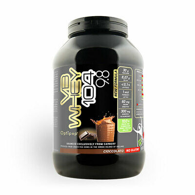 NET Integratori VB 104 Whey 900gr. Proteine Isolate e Idrolizzate OPTIPEP