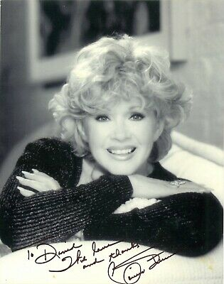 Connie Stevens hand signed autographed black and white photo