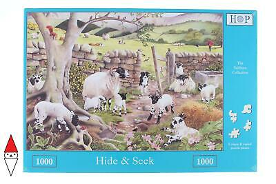 Puzzle Animali The House Of Puzzles Capre Hide And Seek 1000 Pz