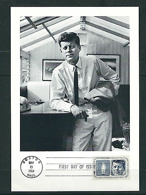 UNITED STATES 1964 KENNEDY JFK PORTRAIT with FDC cancel