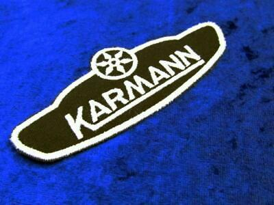 + VOLKSWAGEN VW Karmann Aufnäher / Patch / Sticker   NEU