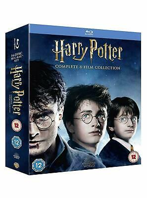 HARRY POTTER Complete 8 Film Collection 16 Disc Blu-Ray BRAND NEW Free Ship