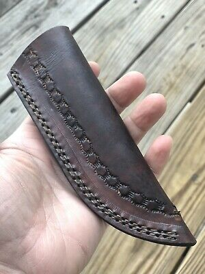 Double Stitch Hand Made Pure Leather Sheath For Fixed Blade Knife Or Any Tool