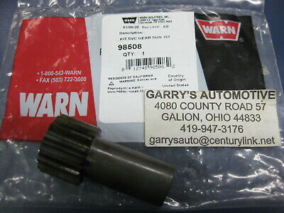 Applications in listing. WARN 13874 Winch Sun Gear 12 Tooth Stage 1