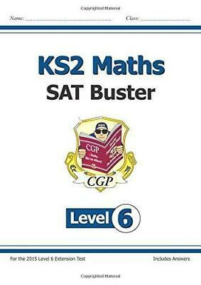 KS2 Maths SAT Buster: Level 6 - for SATS until 2015 only, Books, Cgp, Good Condi